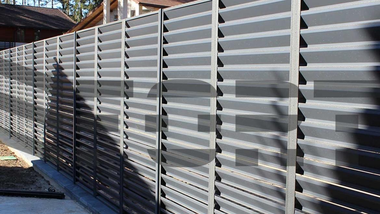 забор металлический сварной  fort comfort