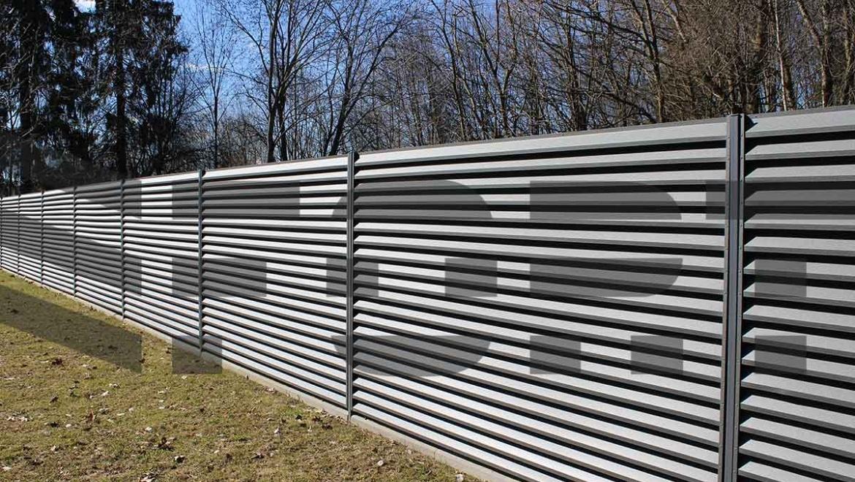 забор жалюзи fort lux для двора